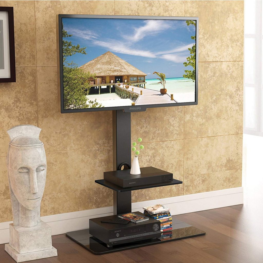 Floor tv stand mount 1