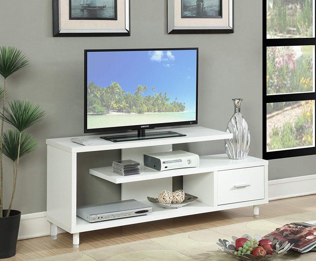 TV Stand White 1
