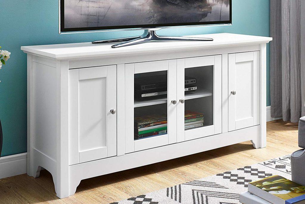 TV Stand White 2