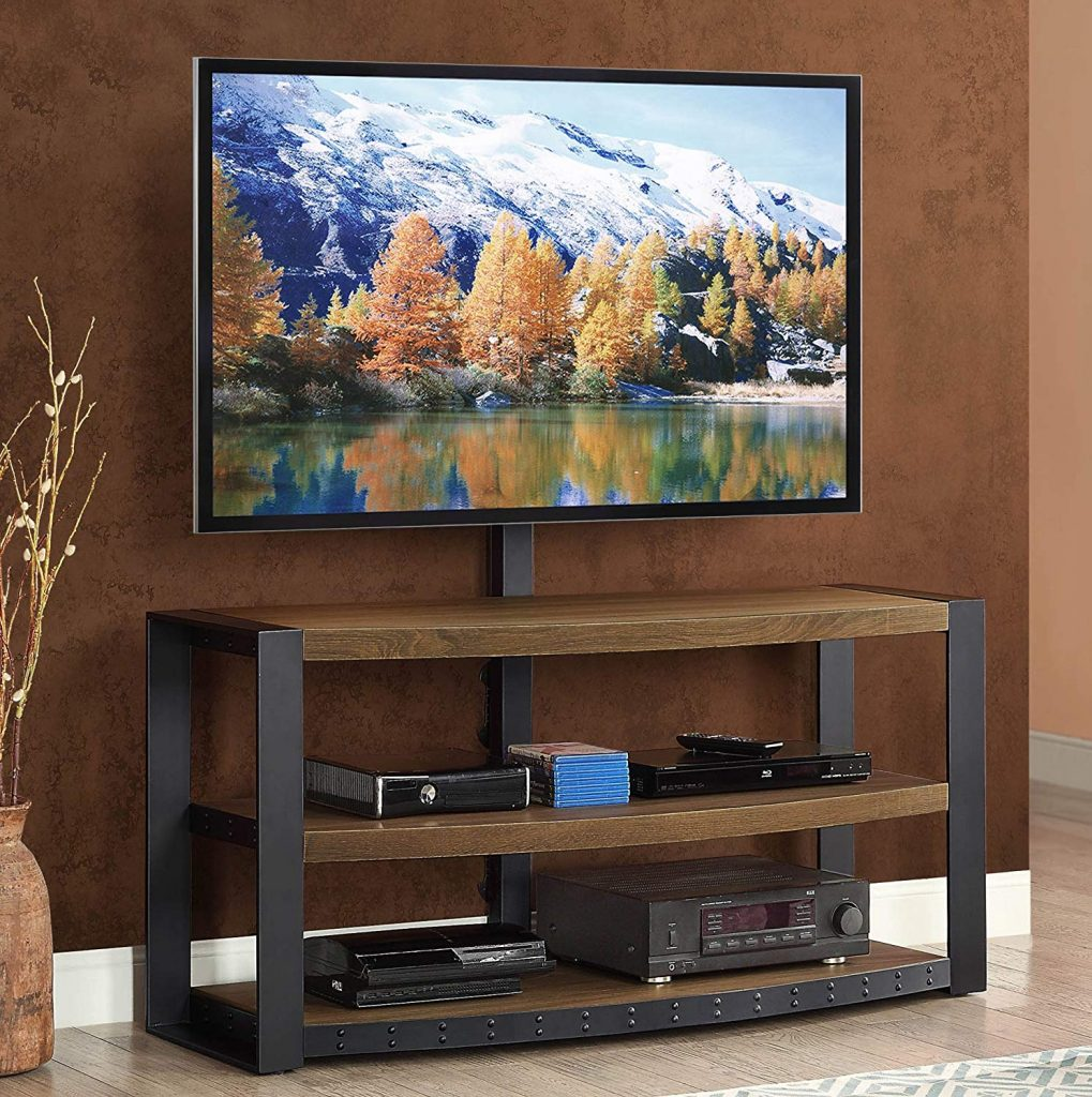 Tv stand with mount 1