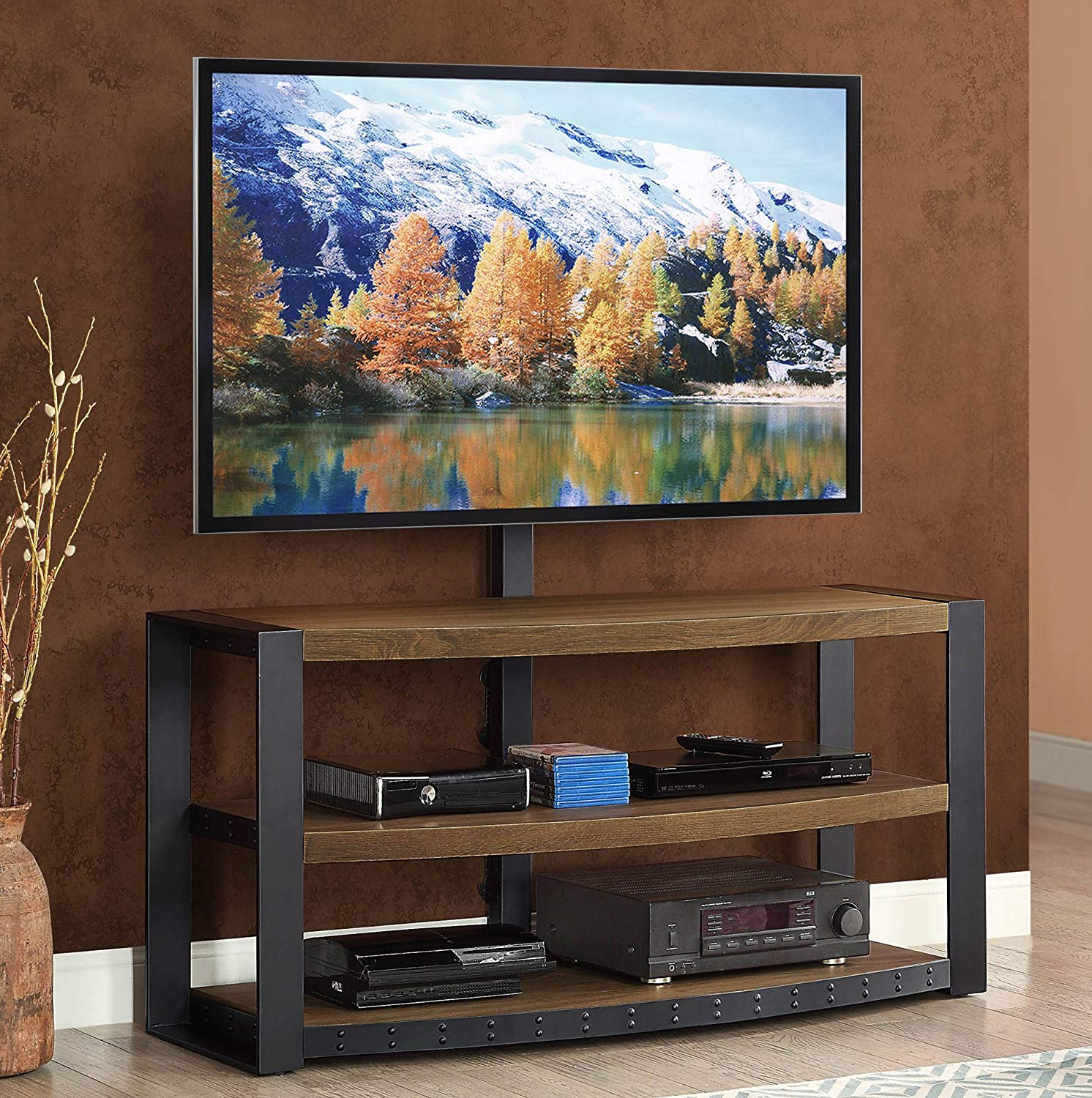 55 inch tv stand with mount