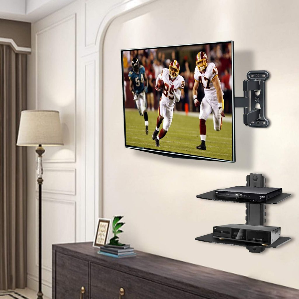 Tv wall mount with shelf 1