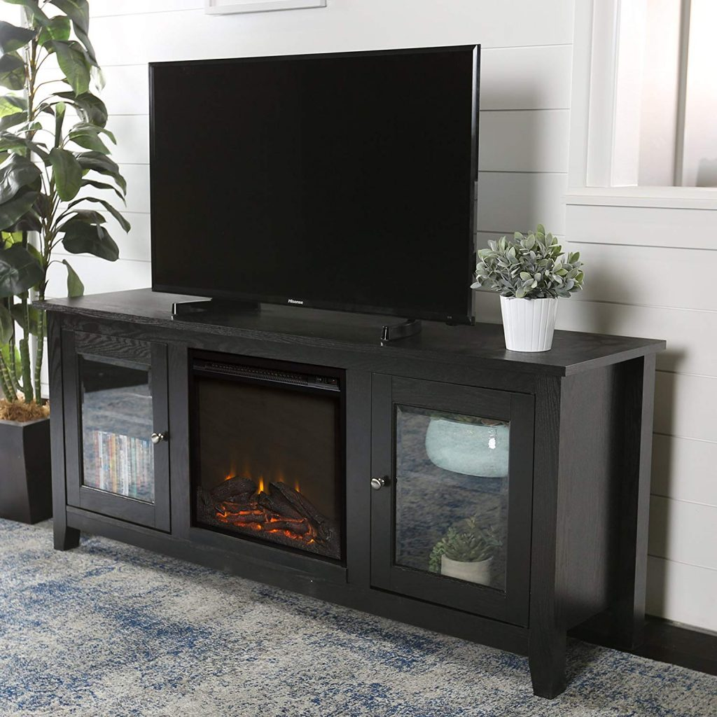 tv stand fireplace 3