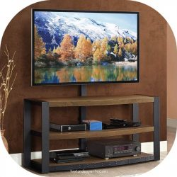 tv stand with mount min