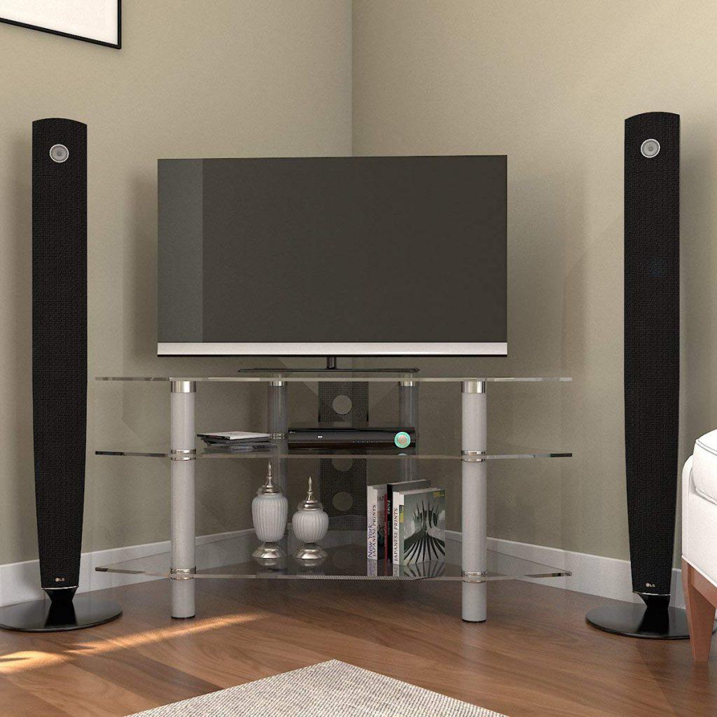 Modern Corner TV Stand 1
