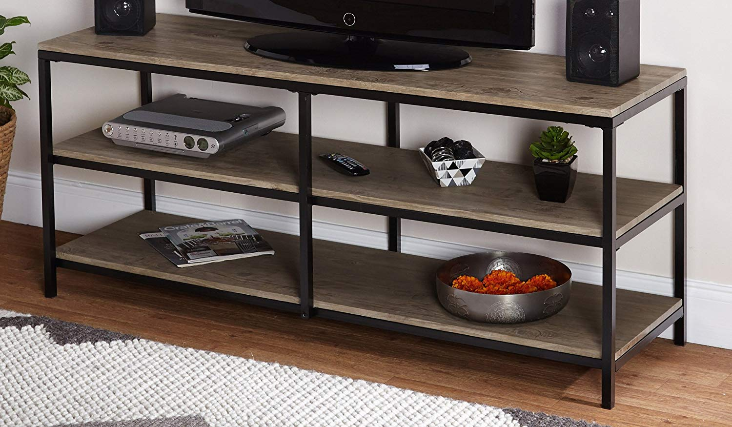 reclaimed wood tv stands