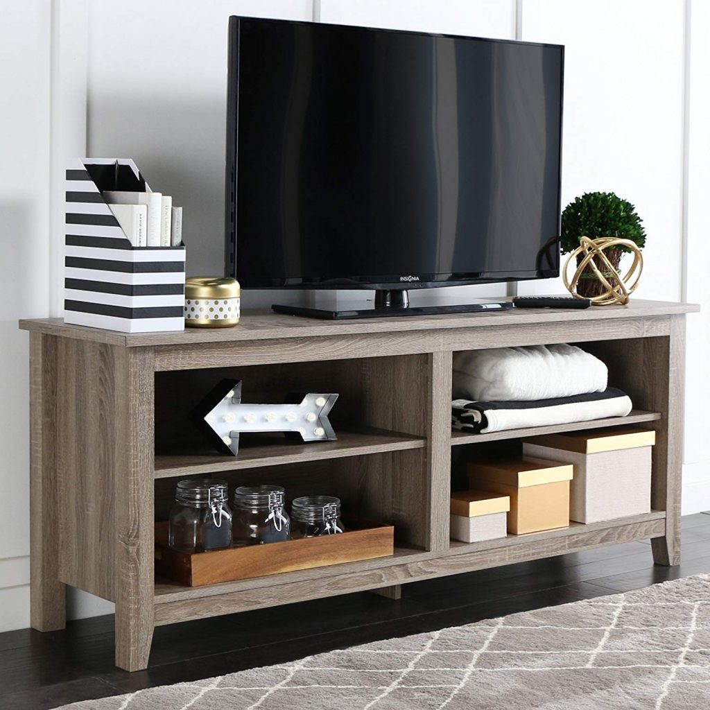 Rustic TV stand 1