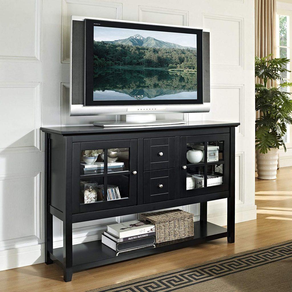 black tv stand 1