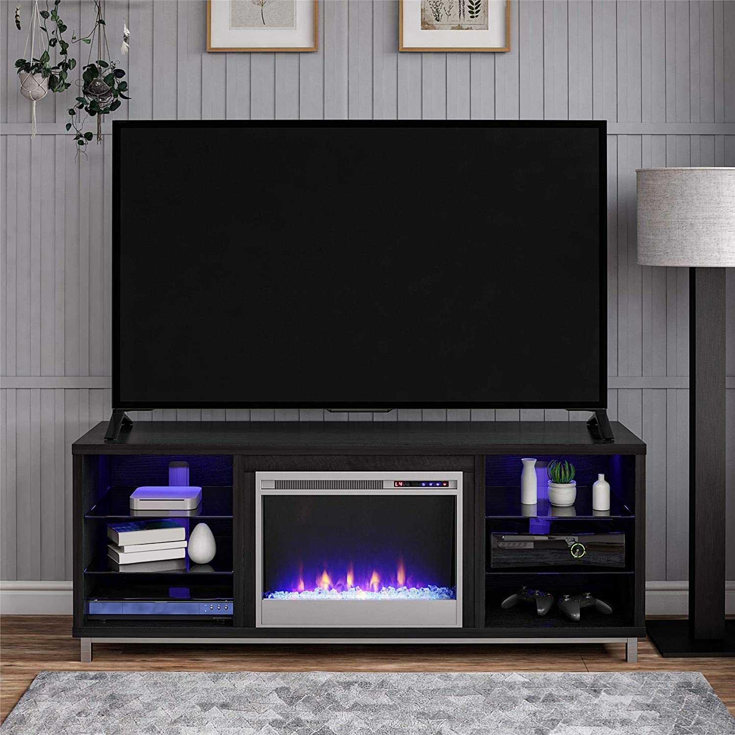Ameriwood Fireplace TV Stand
