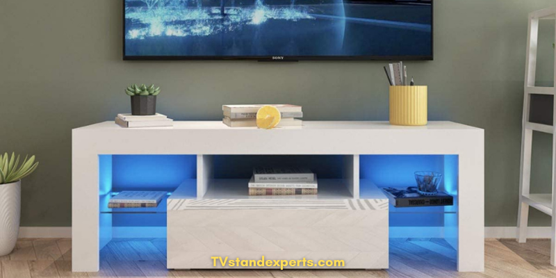 The Best TV Stand White GRAN